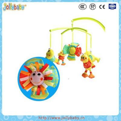 Jollybaby Baby Cute Cartoon Music Rotary Bed Bell