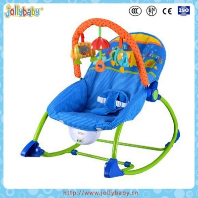 Lovely folding baby music rocking chair
