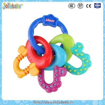 jollybaby key teether toy for baby