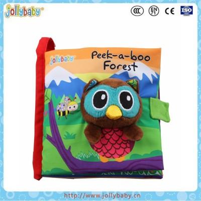 Jollybaby eco friendly educational baby waterproof cloth book