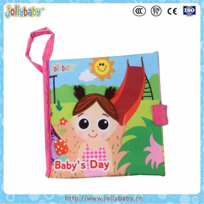 Baby 3D Cloth Books Soft Series Colorful Fabric Kid Learning Book