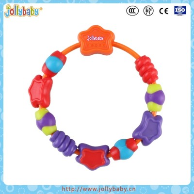 100% Silicone Chewable Baby Bracelet Teether Toy