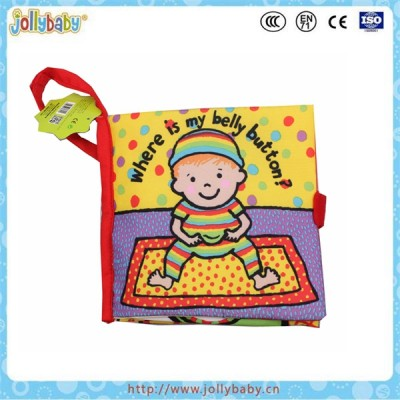 Baby cloth book kids soft intellectual toys