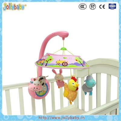 Baby Mobile Crib Rotate Baby Bed Bell