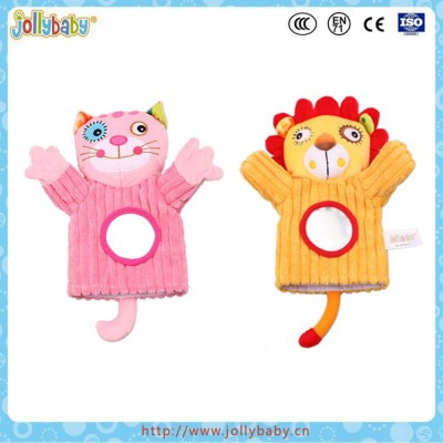 plush hand puppet doll