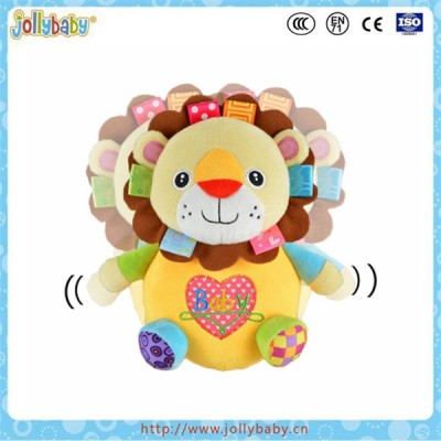 Stuffed plush animals tumbled toy for children to keep balance