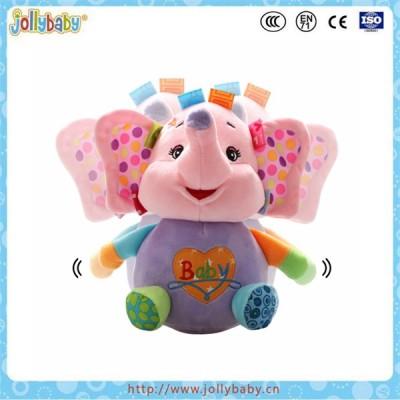 Jollybaby wholesale stuffed Plush Toys For Kids Frog Tumble Toy
