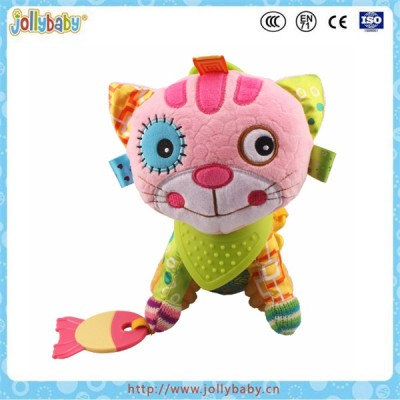 Jollybaby Wholesale Baby Teether Plush Toys