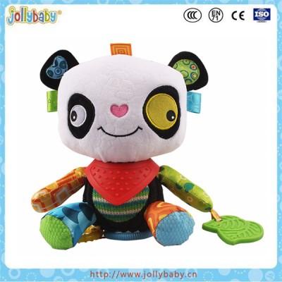 Jollybaby Wholesale Baby Animals Teether Plush Toys