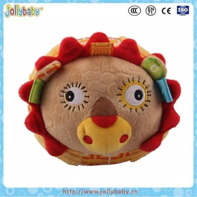 Factory wholesale Jollybaby Plush Stuffed Animal Toys Rocking Animals balls