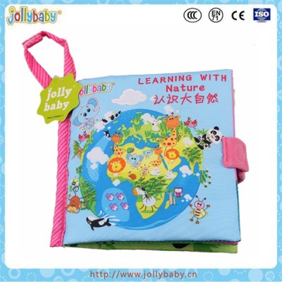Toys baby educational cloth books for baby playing and educating