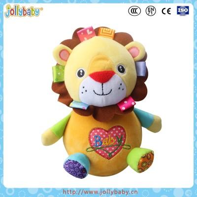 Soft Cloth Plush Animal Doll Tumbler Baby Stuffed Toy