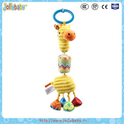new design plastic baby hanging rattle bell wind bell