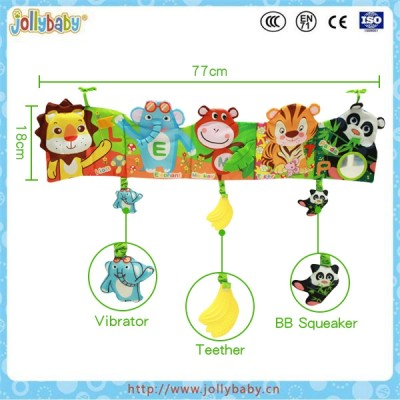 Jollybaby wholesale educational baby bed bumper crib liner