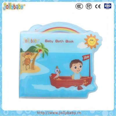 Jollybaby waterproof plastic bath toy PVC baby bath book