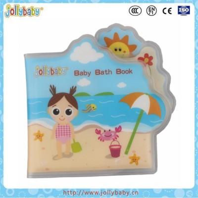 Jollyaby shower PVC bath book waterproof story book