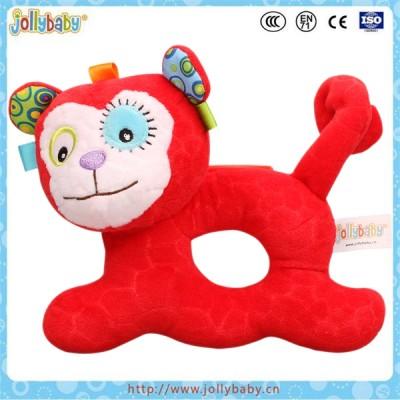 baby plush ring rattle toy
