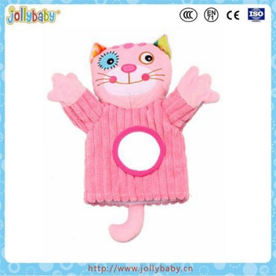 Jollybaby wholesale plush hand puppet doll,hand puppet toys for children,animals hand puppet