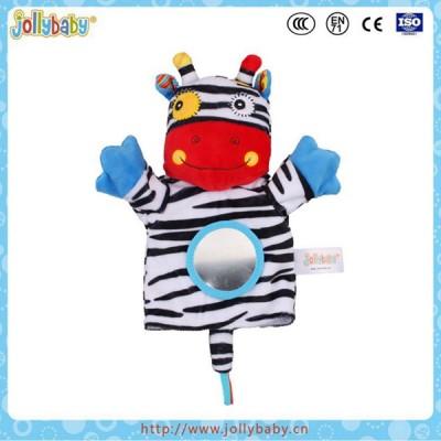 Jollybaby cute animals plush baby hand puppets