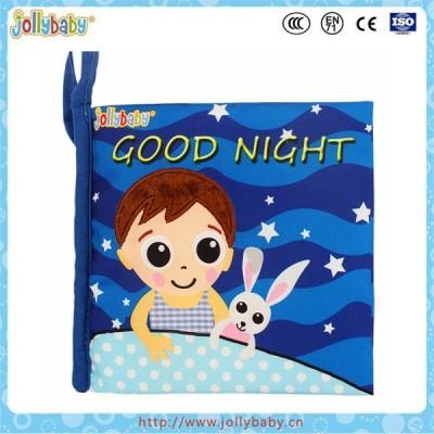 Dongguan Jollybaby educational baby cloth story book