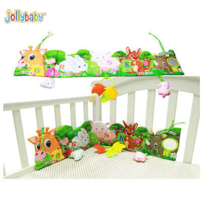 Jollybaby Bed Wai Book Soft Toy For Baby Crib