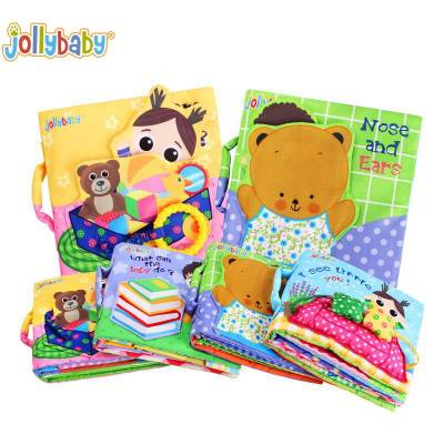 Baby's Daily Life Soft Activity Book