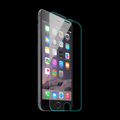 2.5D 9h mobile phone tempered glass screen protector for iphone 6