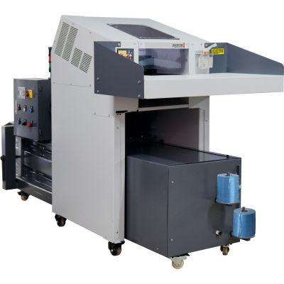 Industrial Paper shredder and hydraulic baler
