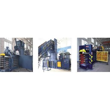 Horizontal Automatic Hydraulic Baler Series