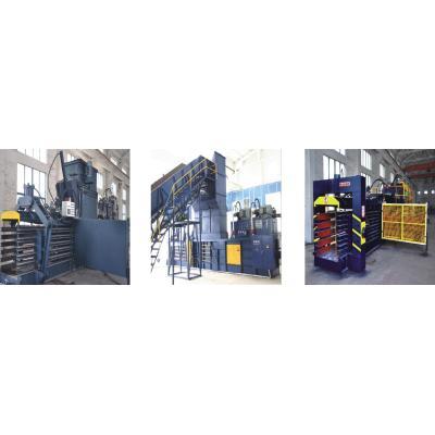 Horizontal Automatic Hydraulic Baler Series