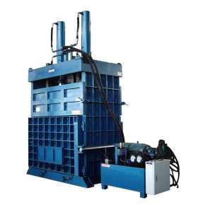 Heav duty vertical tire Baling press  Tire baler machine