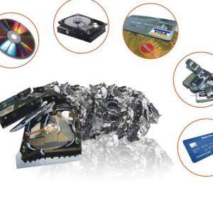ideal shredder  for office and company HDD destruction