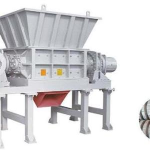 Four Shaft Shredder for multiple waste recycling and shredding purpose