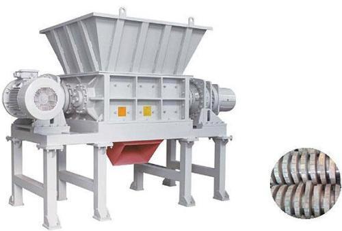 Four Shaft Shredder for multiple waste recycling and shredding purpose