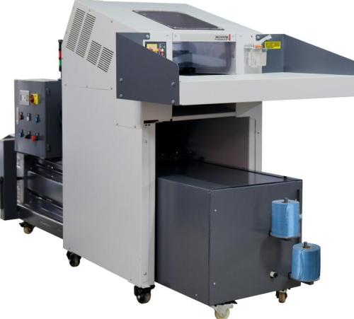 industrial shredder with  Baler Combination