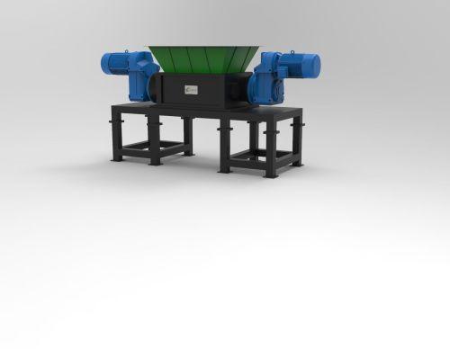 Waste shredder Medium duty for  recycling applications.