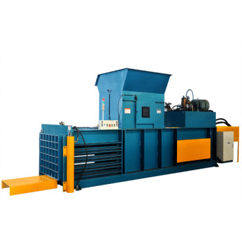 Horizontal semi-automatic hydraulic Heavy duty baler for paper, cardboard and film