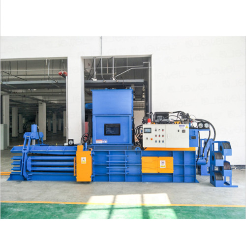 Horizontal Automatic hydraulic baler for baling press paper, cardboard and film