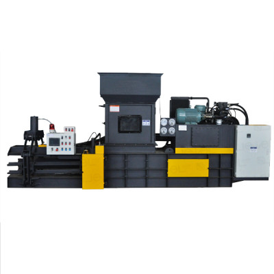 Automatic baler hydraulic Heavy duty baler for paper, cardboard and film waste.