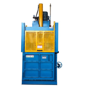 Medium-sized vertical hydraulic balers for baling press paper, cardboard and film