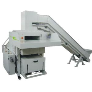 High Volume medium duty industrial shredder with baler for paper and cardboard
