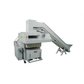 High Volume medium duty industrial shredder with baler for paper and cardboard