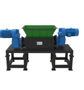 Waste shredder Medium duty for  recycling applications.