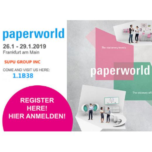 Paperworld Frankfurt Show in Germany