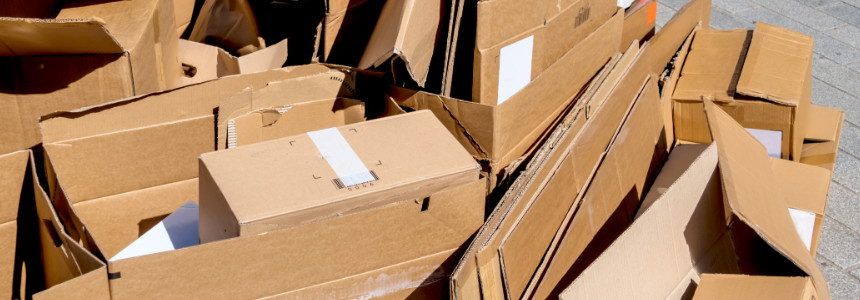 Cardboard Waste Recycling
