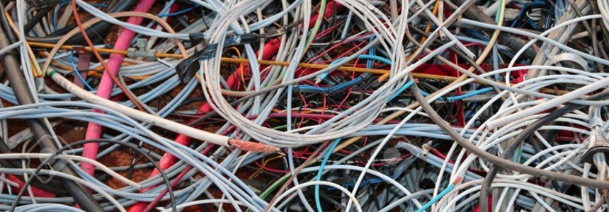 Electrical Cables Waste Recycling