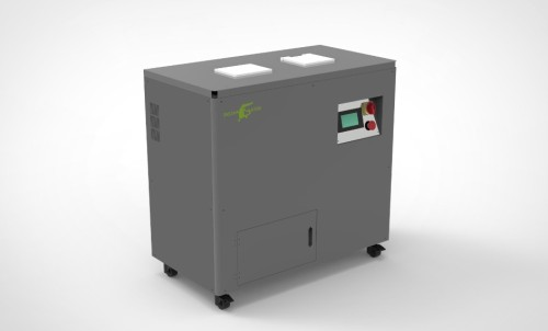 Portable data destruction used hard drive shredder