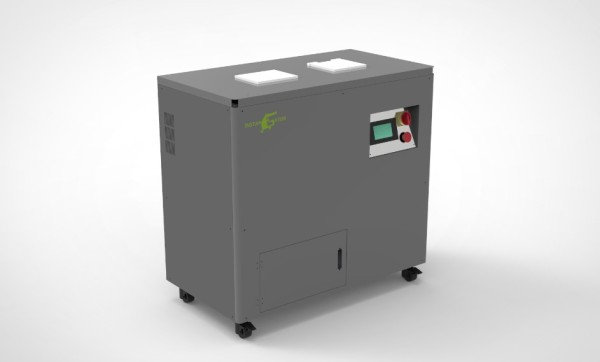 Portable data destruction used hard drive shredder