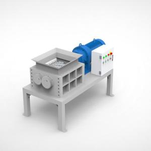 Multiple purpose waste recycling  two shaft shredder for home use