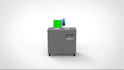 E-waste destruction hard drive hard disk and two shaft shredder for HDD and SSD with conveyor